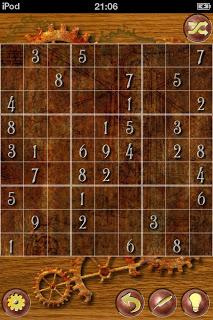 Sudoku screenshot