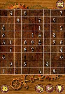 Cropped Sudoku screenshot